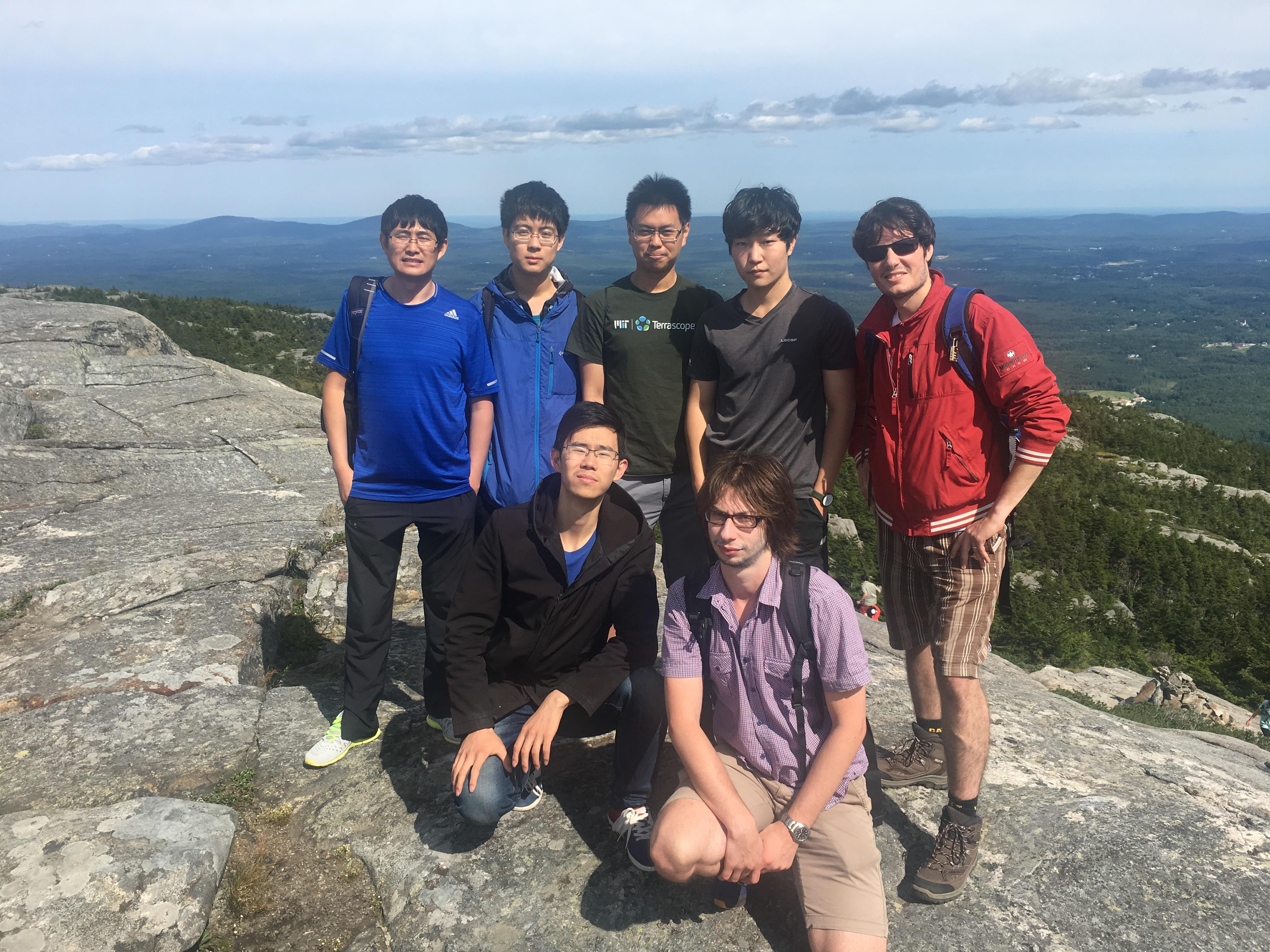 Group hike @ Mount Monadnock (Jul '17)