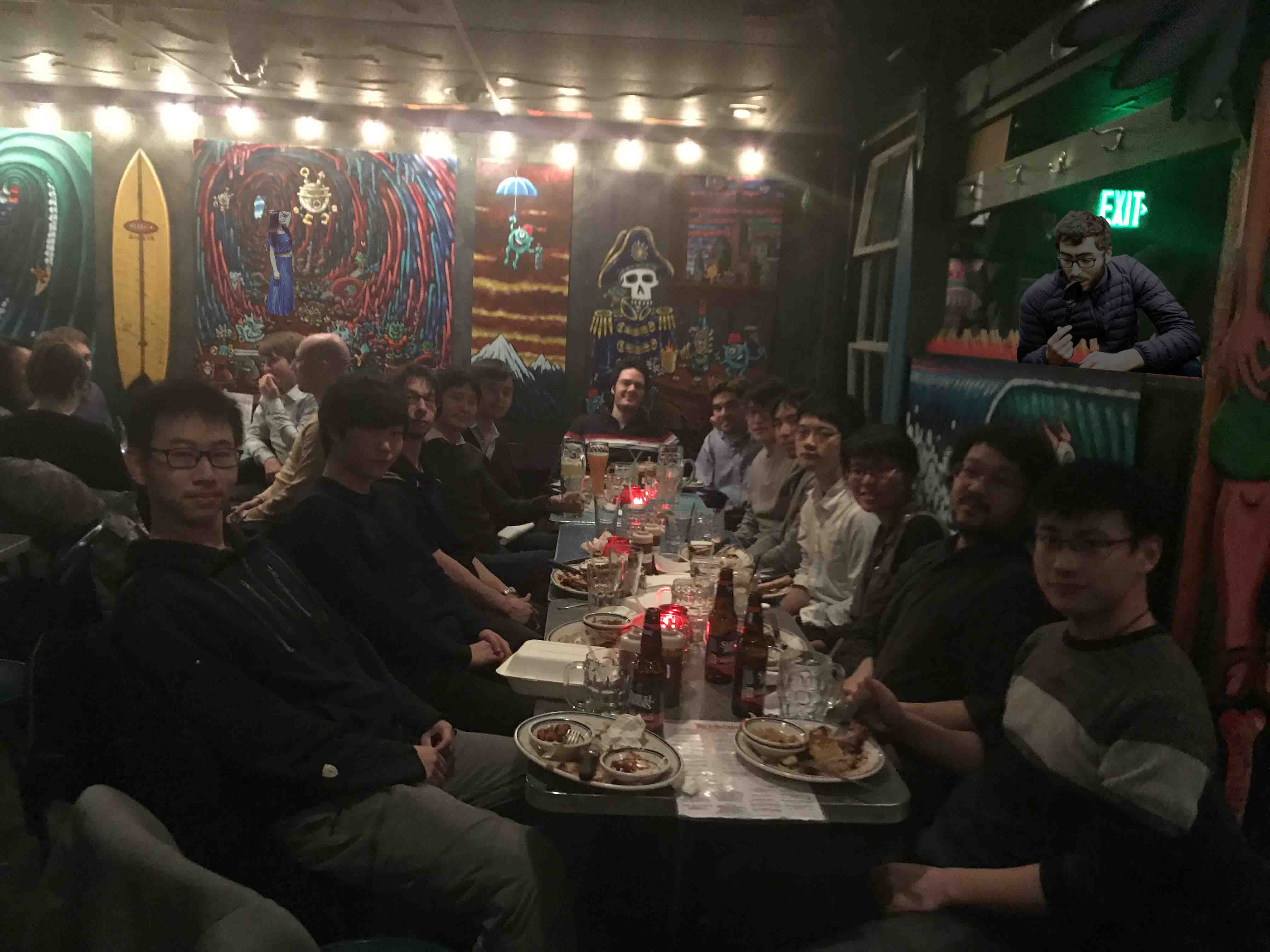 Group dinner (with Checkelsky Lab)