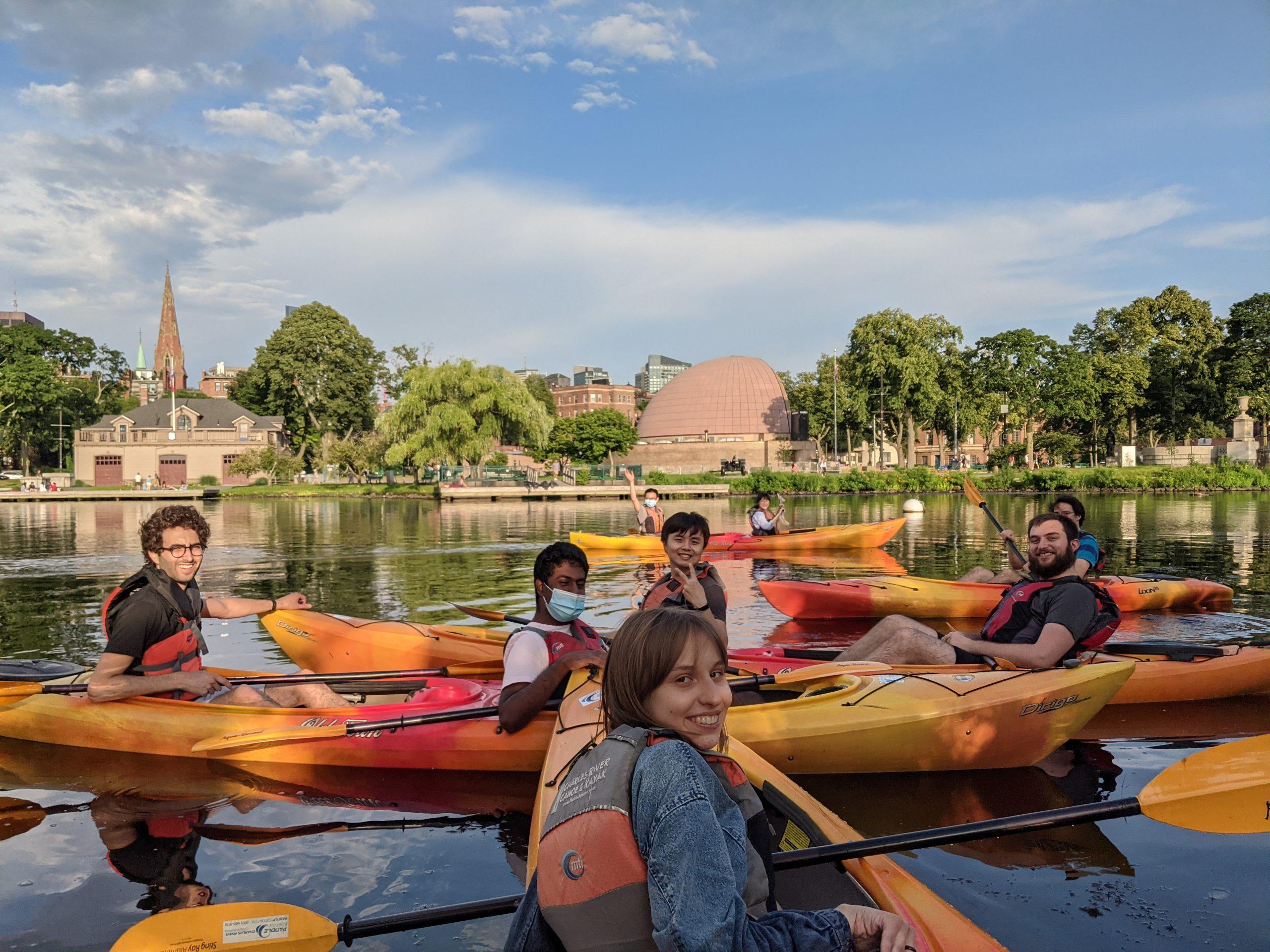 Kayaking on the Charles (Jul '21)